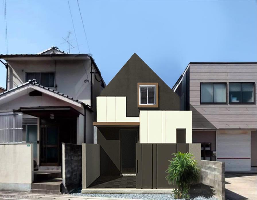 Desain Rumah Kecil Minimalis Ukuran 50 m2