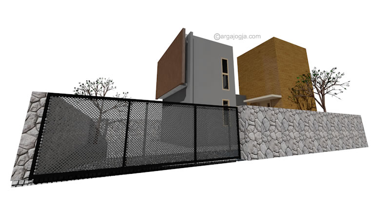 Fasad Minimalis