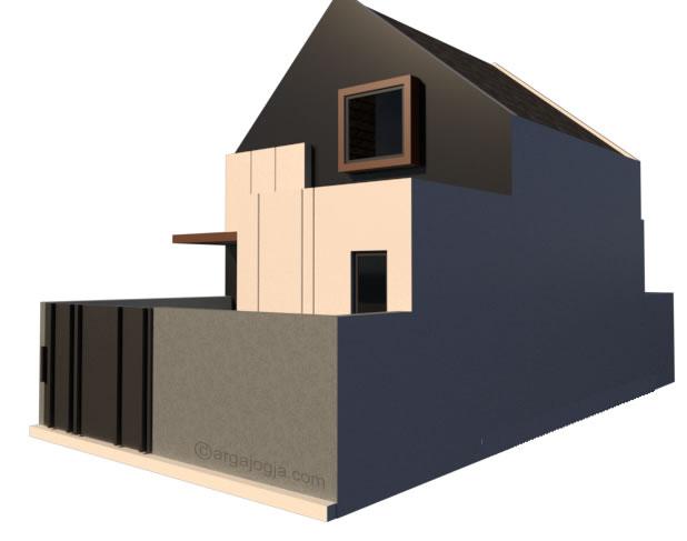 perpektif rumah kecil