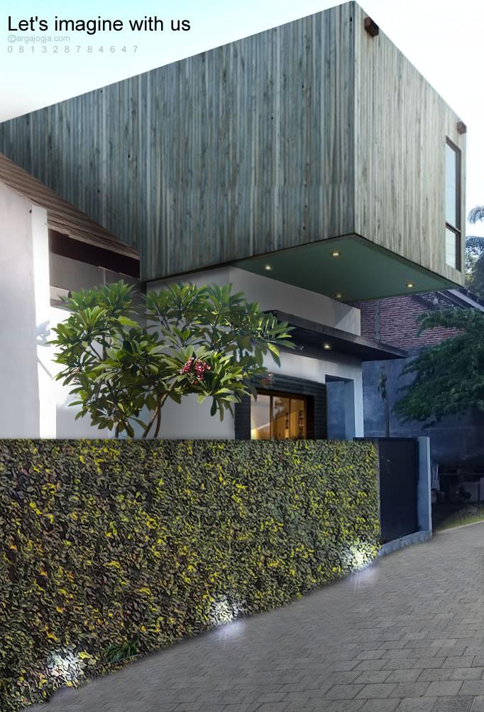 Renovasi Unik Rumah 1 Lantai Menjadi 2 Lantai Nonjol