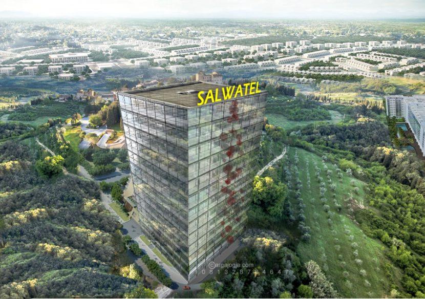 Desain Fasad Hotel Salwatel