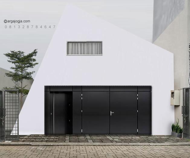 Desain Rumah Unik Iregullar House 2