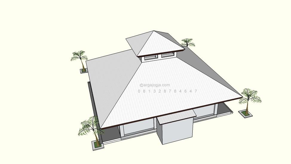 Desain Masjid Sederhana Minim Budget