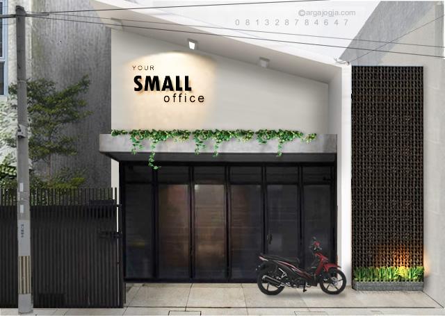 desain rumah kantor industrial