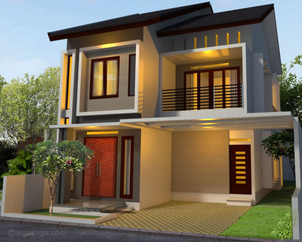 box house design