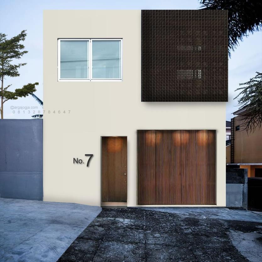 Desain Rumah Modern Minimalis Lahan 40 m2