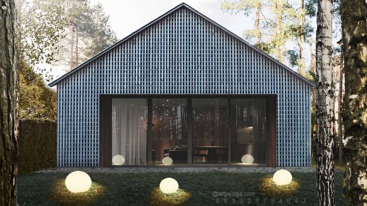 Desain Home Stay Simpel Minimalis